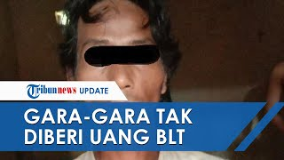 Pria di Lampung Tinju Wajah Anak Perempuannya Berkali-kali Gara-gara Tak Diberi Uang BLT Rp300 Ribu