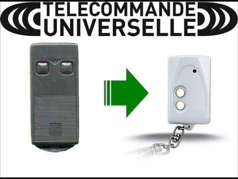 comment regler telecommande portail