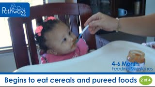 The 4 to 6 Month Baby Feeding Milestones to Look For
