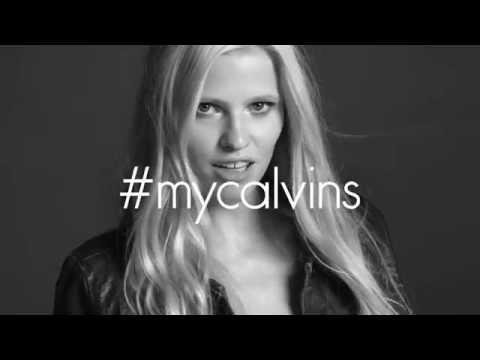 #mycalvins - Calvin Klein Jeans Fall 2014 - презентация одежды Calvin Klein