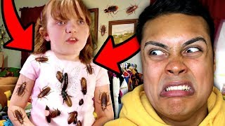 meet the girl OBSESSED with COCKROACHES (Reacting To My Kids Obsession)