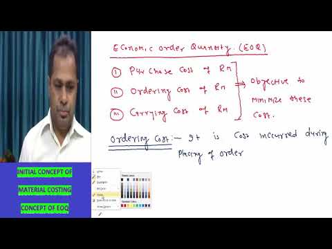 """""""Material Costing"""", Costing Lecture by Prof H.L Gupta for Upcoming CA Inter Exam"""