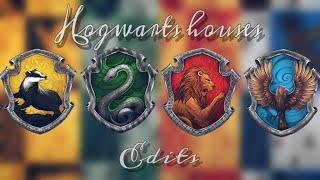 [Harry Potter] Hogwarts Houses Edits✨