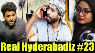 Real Hyderabadiz #23 || Hyderabadi Comedy Video || Dj Adnan Hyd || Acram Mcb