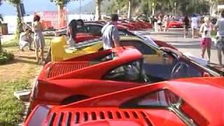preview picture of video 'Maccagno: Ferrari raduno'
