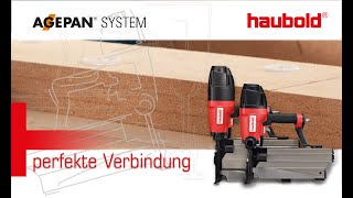 AGEPAN® THD Static with haubold® clamps (DE version)