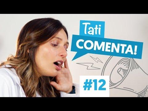 Imagem ilustrativa do vídeo: COMO NÃO ESQUECER DE ESCOVAR OS DENTES? | Tati Comenta #12