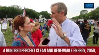Dem Senator Urges Total Transition to Renewable Energy by 2050