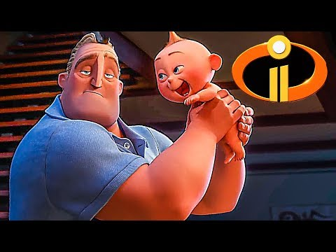 Download INCREDIBLES 2 Trailer ✩ (Animation, Kids Family Movie 2018