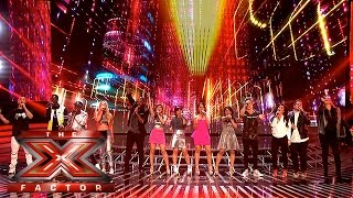 What A Feeling! Watch our Finalists perform Flashdance hit   Week 3 Results   The X Factor 2015