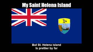 National Anthem of Saint Helena (My Saint Helena Island) - Nightcore Style With Lyrics