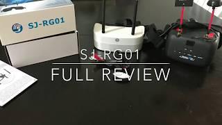 Best CHEAP FPV Goggles? - SJ-RG01  Comparison Video