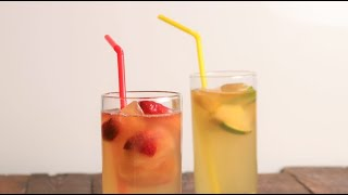 2 Fabulous Flavored Ice Cube Ideas