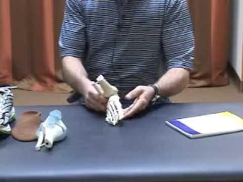 Koślawego wideo stóp