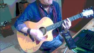 Hold On, I'm Coming - Sam & Dave, Eric Clapton, B.B.King - Acoustic Guitar Rendition