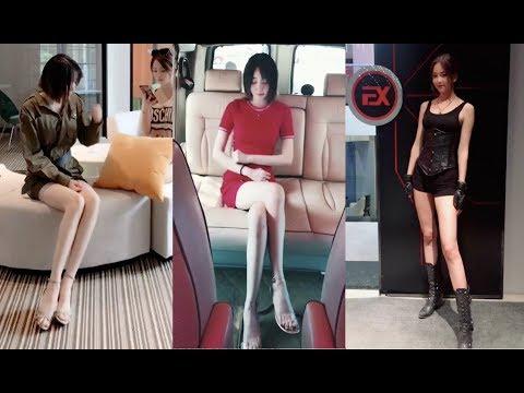 妹妹一雙好看的腿,一言不合就尬舞,受不了Funny character video 《daily update》
