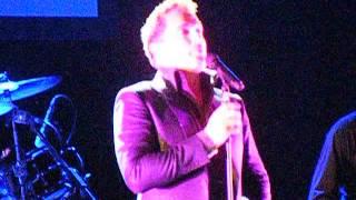 I am What I Am John Barrowman Southend 16/05.15 You Raise me up tour