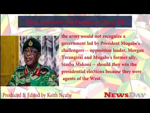 E.U Zimbabwean Army- stay out of politics