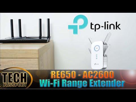 RE650 | AC2600 Wi-Fi Range Extender | TP-Link
