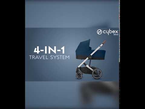 Cybex Balios S Lux BLK коляска прогулочная Navy Blue