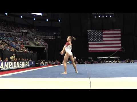 Ragan Smith- Floor Exercise - 2016 P&G Gymnastics Championships – Sr. Women Day 2
