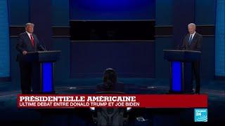 REPLAY – Donald Trump vs Joe Biden : Dernier débat avant la présidentielle américaine