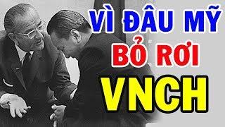 Sau 44 Năm Mỹ Lần Đầu Tiết Lộ Lý Do Cắt Viện Trợ Cho VNCH Vào Miền Nam Việt Nam