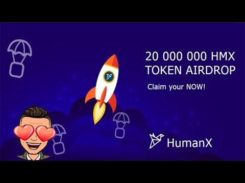 2 Milhões de token HumanX. JÁ PAGOU E ESTÁ LISTADO EM EXCHANGE !