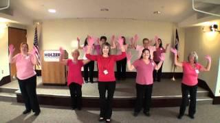 Holzer Pink Glove Dance