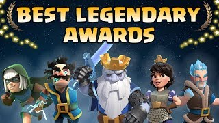 Clash Royale Legendary Awards 2018 | Who