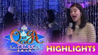 It's Showtime Miss Q & A: Anne screams after a studio blackout!