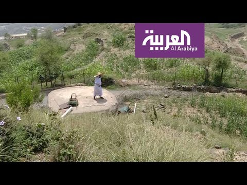 العرب اليوم - شاهد: لقطات حيَّة من جبال قرية
