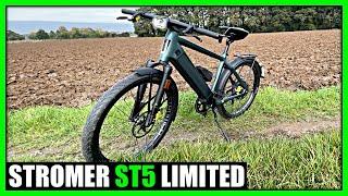 Erster Eindruck Stromer ST5 Limited 45km/h S-Pedelec
