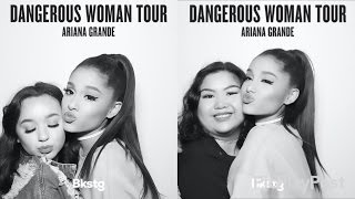 Meeting ariana grande dwt vip and experience most popular videos we met ariana grande dangerous woman tour vip experience vlog sacramento m4hsunfo