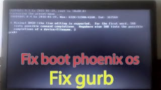 how to fix phoenix os stuck at android x86_64 - Video hài
