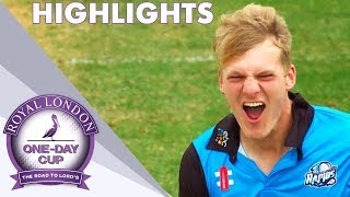 Semi-Final Goes To Final Over | Kent v Worcs - Royal London One-Day Cup 2018 - Highlights