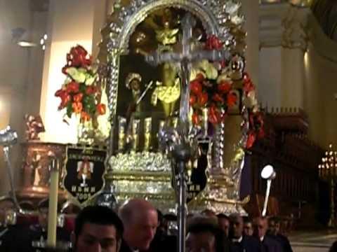 Señor de los Milagros de Nazarenas 2009 - Catedral de Lima