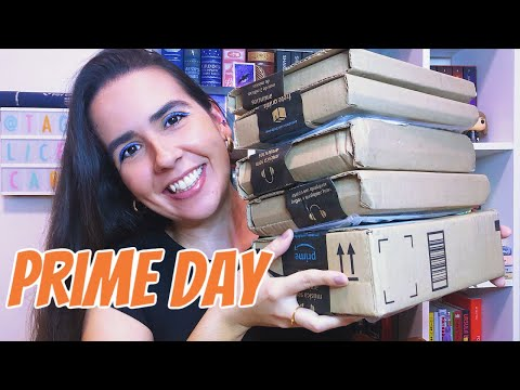 UNBOXING PRIME DAY AMAZON 📦 | Ana Carolina Wagner