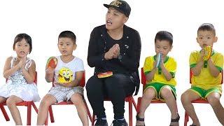 NTN - Thử Đi Học Lại Trường Mầm Non ( Study at school with 5year olds children )