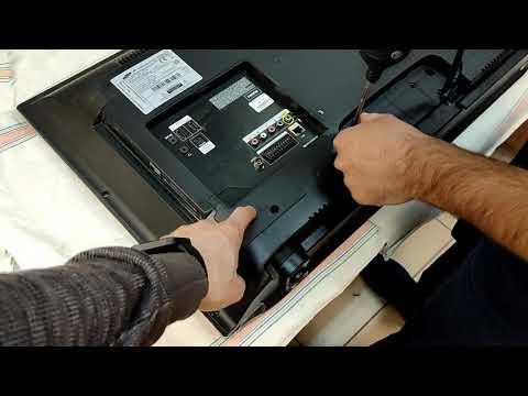 Телевизор Samsung UE32EH5007K мерцает экран Виноват конденсатор