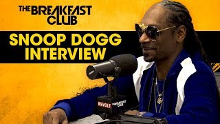 The Breakfast Club - Snoop Dogg Talks Clout Chasing, Kanye West, Smoke Stories + More