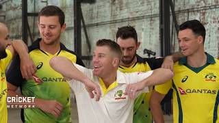Behind the scenes of Aussie team's kit launch