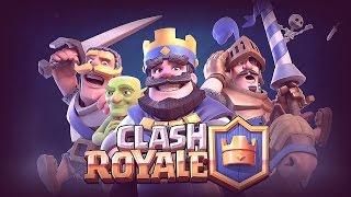 Играем в Clash Royale/тащим катки!!!