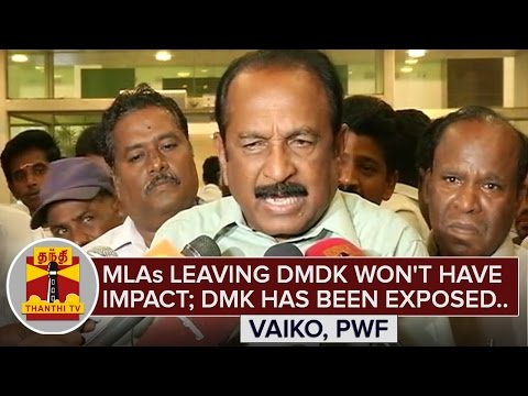MLAs-leaving-DMDK-wont-have-Impact-DMK-has-been-exposed--Vaiko-ThanthI-TV