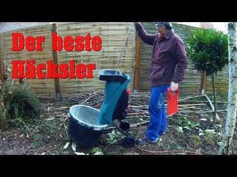 Häcksler Bosch AXT Rapid 2200 Test Live