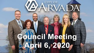 Preview image of City Council Meeting - April 6 2020