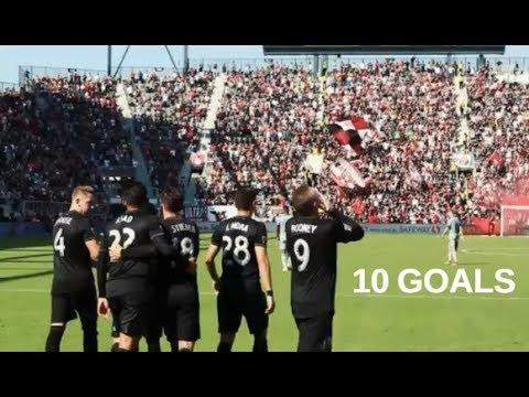 Wayne Rooney All 10 Goals D.C. United MLS 2018