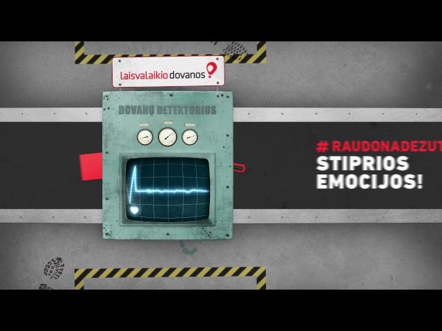 Laisvalaikio Dovanos // TV Commercial