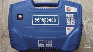 Scheppach Germany Kompressor AIR FORCE ausführlich getestet compressor test air force