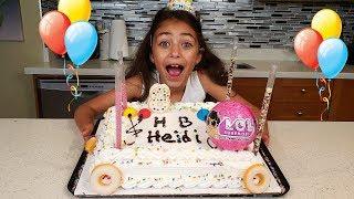 Heidi Happy Birthday Cake Toys